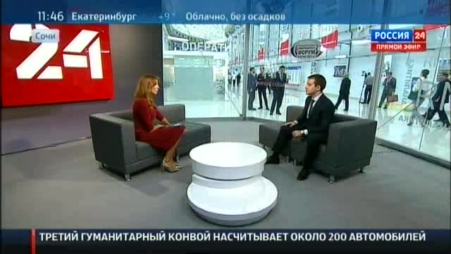 Interview of Nikolay Nikiforov to TV channel